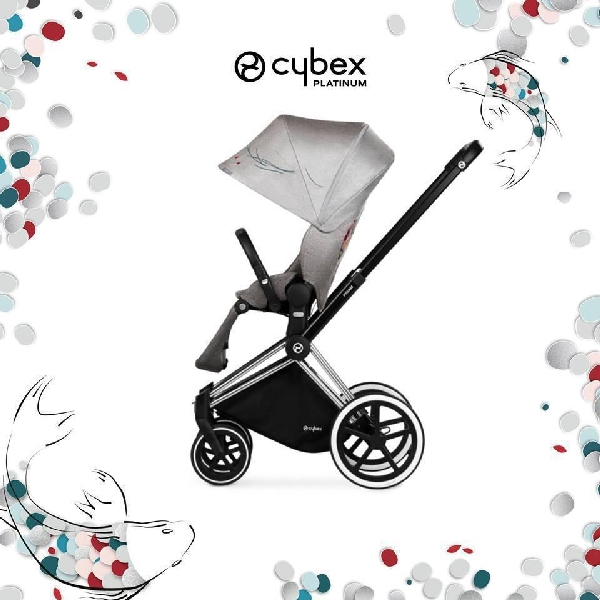 Cybex Fashion Koi PRIAM嬰兒手推車