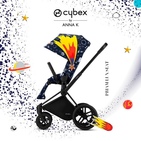 Cybex Fashion Anna K PRIAM嬰兒手推車